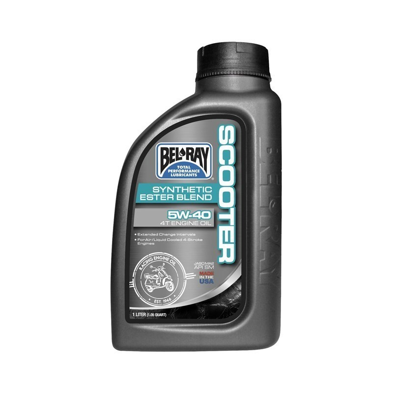 Belray Scooter Synthetic Ester Blend 4T 5W-40 1 l