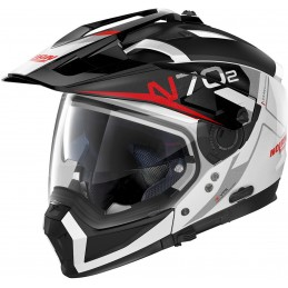 Prilba na motocykel NOLAN N70-2 X Bungee N-Com white/black