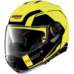 Prilba na motocykel NOLAN N100-5 Consistency black/yellow