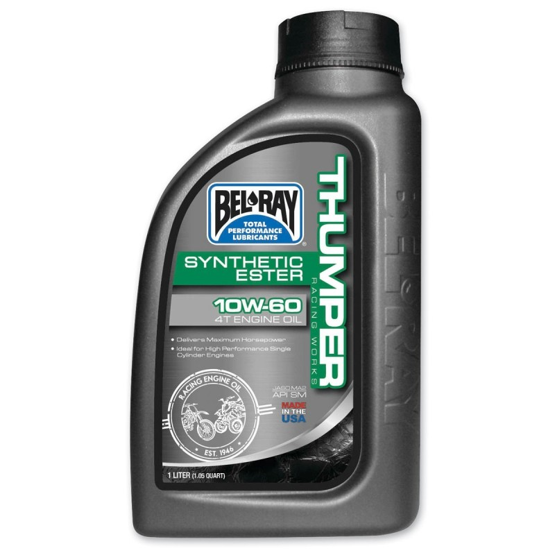 Belray Thumper Racing Works Synthetic Ester 4T 10W-60 1 l