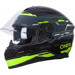 Prilba na moto Oneal Challenger Matrix black/neon yellow