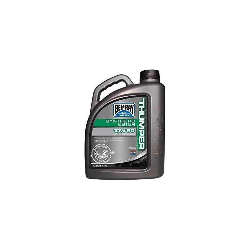 Belray Thumper Racing Works Synthetic Ester 4T 10W-50 4 l