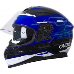 Prilba na moto Oneal Challenger Matrix black/blue