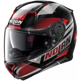 Prilba na motocykel NOLAN N87 Jolt black/red