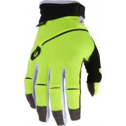 MX rukavice Oneal Revolution neon yellow
