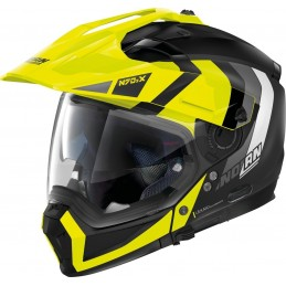 Prilba na motocykel NOLAN N70-2 X Decurio black/yellow