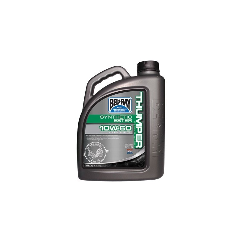 Belray Thumper Racing Works Synthetic Ester 4T 10W-60 4 l