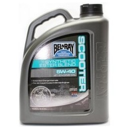 Belray Scooter Synthetic Ester Blend 4T 5W-40 4 l