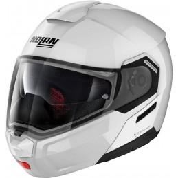 Prilba na motocykel NOLAN N90-3 white metalic