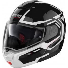 Prilba na motocykel NOLAN N90-3 driller black/white