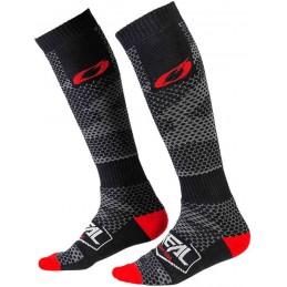 MX ponožky na motocykel Oneal Pro Covert Light Grey/Dark Grey
