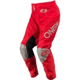 MX nohavice na motocykel Oneal Matrix red