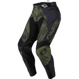 MX nohavice na motocykel Oneal Mayhem Covert black/green