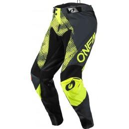 MX nohavice na motocykel Oneal Mayhem Covert gray/yellow