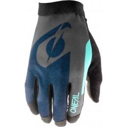 MX rukavice Oneal AMX Altitude blue/cyan