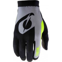 MX rukavice Oneal AMX Altitude Black/Yellow