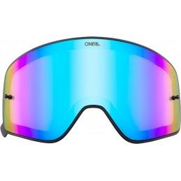 Plexi na okuliare Oneal B-50 blue