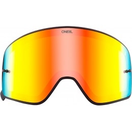 Plexi na okuliare Oneal B-50 red