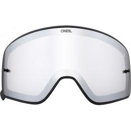 Plexi na okuliare Oneal B-50 silver