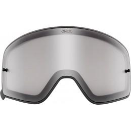 Plexi na okuliare Oneal B-50 grey