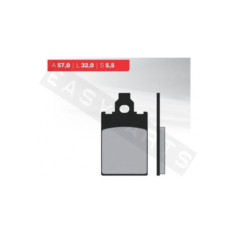 Brzdové platničky NOVASCOOT Organic FT3012