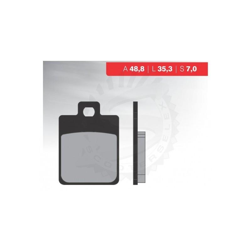 Brzdové platničky NOVASCOOT Organic FT3014