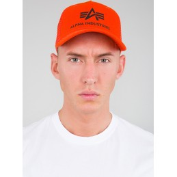 Šiltovka Alpha Industries Basic Trucker Cap orange