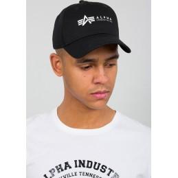 Šiltovka Alpha Industries Alpha Cap black