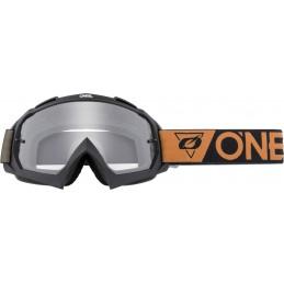 MX okuliare Oneal B-10 Speedmetal black/brown