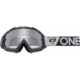 MX okuliare Oneal B-10 Speedmetal black/grey