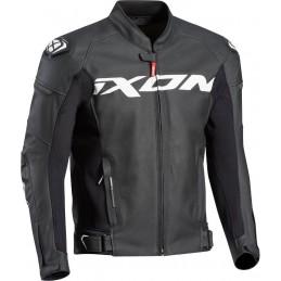 Bunda na motorku Ixon Sparrow black/white