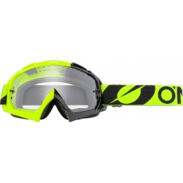 MX okuliare Oneal B-10 Twoface black/neon yellow