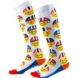 MX detské ponožky na motocykel Oneal Pro Emoji Racer Youth