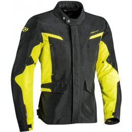 Bunda na motorku Ixon Summit 2 black/neon yellow