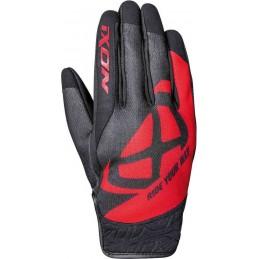 Rukavice na motorku IXON RS Slicker black/red