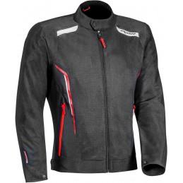 Bunda na motorku Ixon Cool Air black/white/red