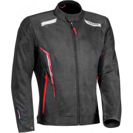 Bunda na motorku Ixon Cool Air black/white/red