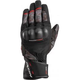 Rukavice na motorku IXON Pro Russel Camo black/red