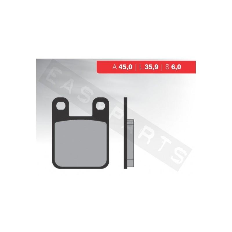 Brzdové platničky NOVASCOOT Organic FT3015