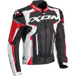 Bunda na motorku Ixon Gyre black/white/red