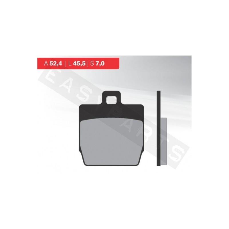 Brzdové platničky NOVASCOOT Organic FT3016
