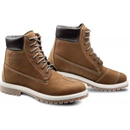 Topánky na motorku IXON Mud WP brown
