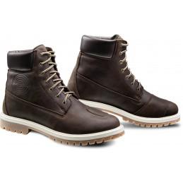 Topánky na motorku IXON Mud WP dark brown