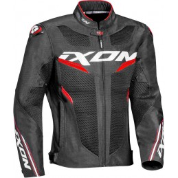 Bunda na motorku Ixon Draco black/white/red