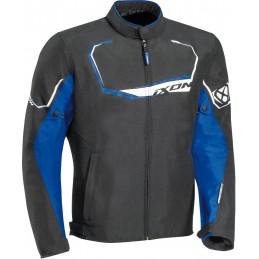 Bunda na motorku Ixon Challenge black/blue