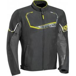 Bunda na motorku Ixon Challenge black/grey/yellow