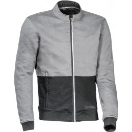 Bunda na motorku Ixon Fulham grey/black