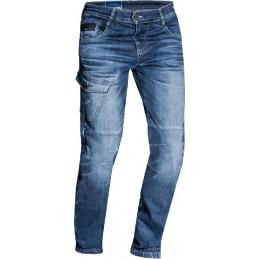 Nohavice na motorku IXON Defender blue