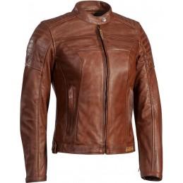 Dámska bunda na motorku IXON Spark light brown