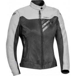 Dámska bunda na motorku IXON Orion black/light grey